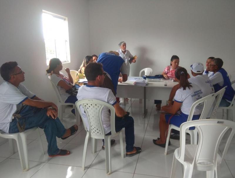 Secretaria  municipal de saúde de Barra D'Alcântara, fará mais um projeto (MENOS PESO MAIS SAÚDE )