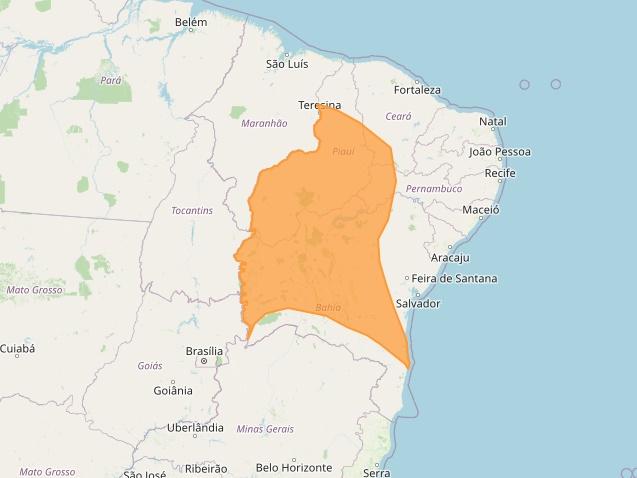 Meteorologia alerta para chuvas intensas em regiões do Piauí