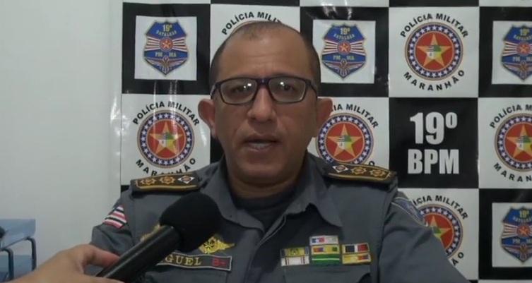 O comandante do 19º BPM-MA, Tenete Coronel Miguel conta com riqueza de detalhes o desenrolar da operação.