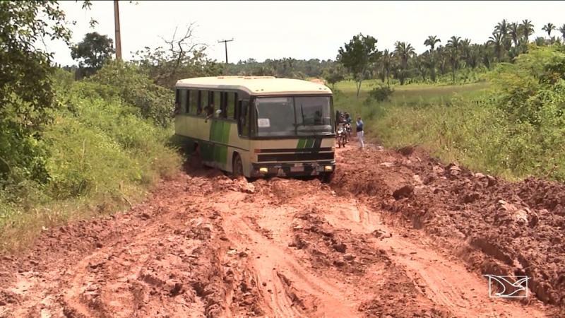 Chuva piora situação da MA-119 no Maranhão