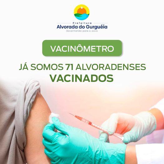 Vacinômetro Alvorada do Gurguéia-PI