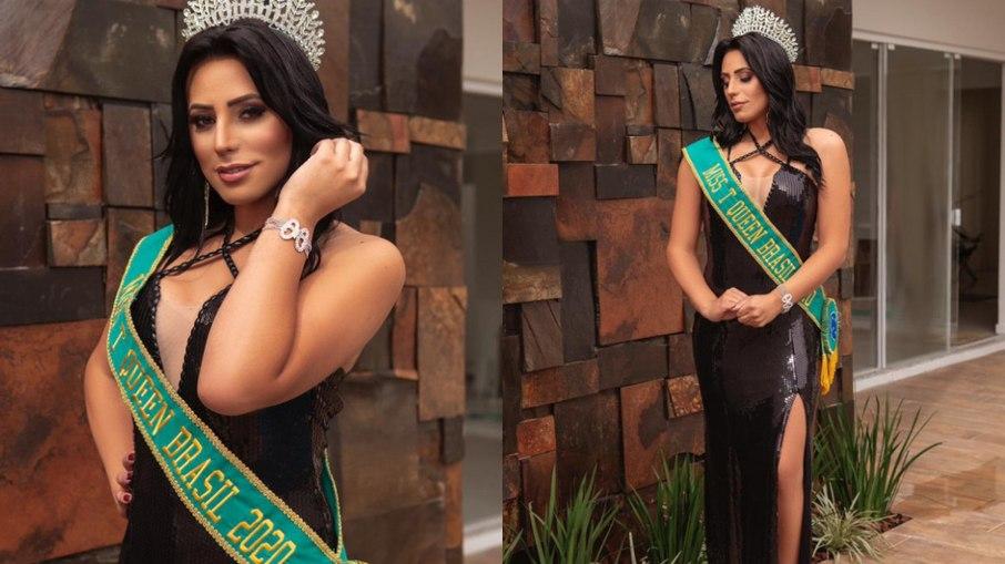 A ganhadora da edição online de 2020 foi Josiela dos Santos - Foto: Miss T Queen Brasil