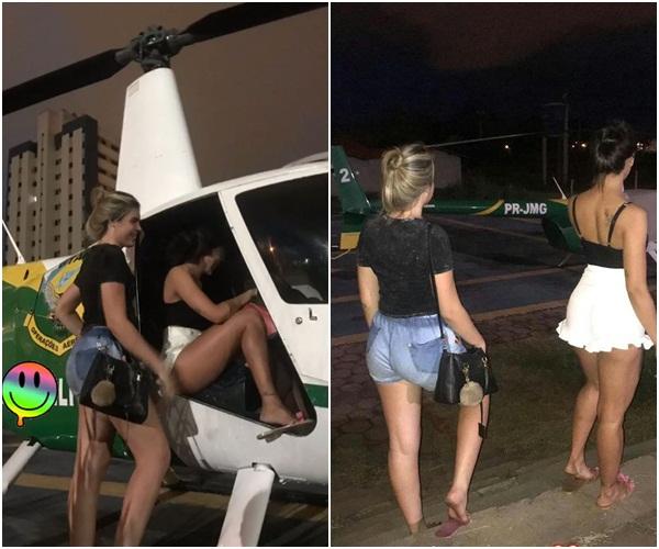 PM-PI esclarece fotos de mulheres em helicóptero da corporação