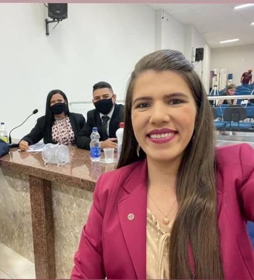 Vereadoras Keyla e Rayanna apresentam indicações no segundo dia da sessão