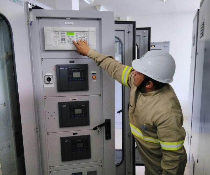 Eletrobras recupera subestação após danos por descargas atmosféricas