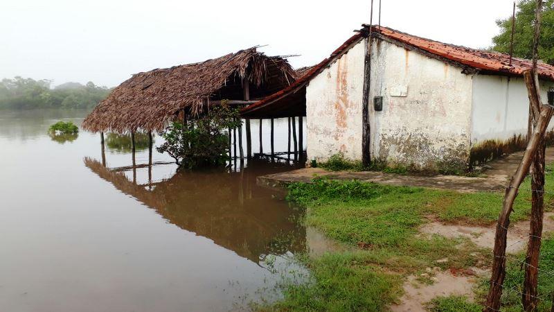 Defesa Civil aciona nível de alerta de inundação para municípios