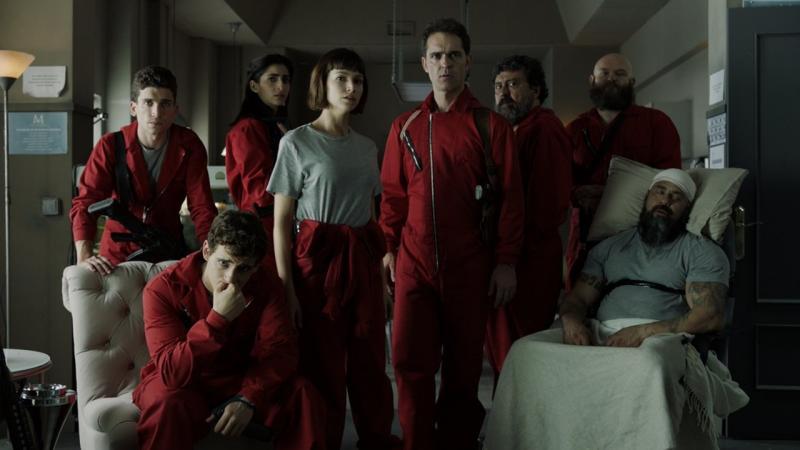 'La Casa de Papel' tem  segunda temporada com muitas surpresas