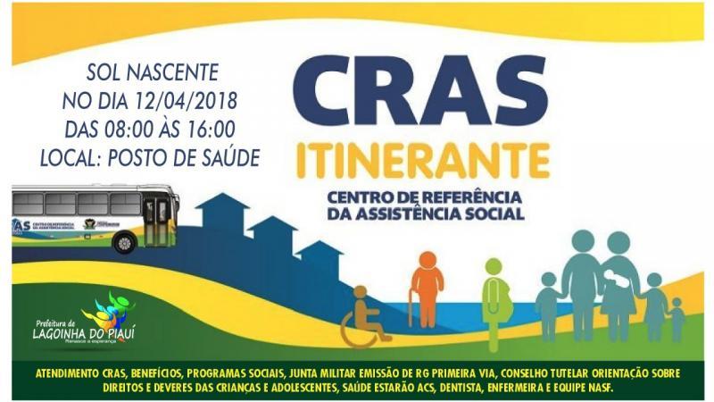Prefeitura municipal  de Lagoinha do Piaui realiza a segunda edição do CRAS itinerante amanhã