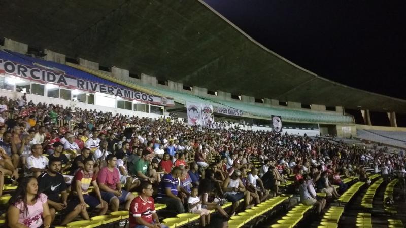 River x Altos empatam no 1° jogo da final do Piauiense