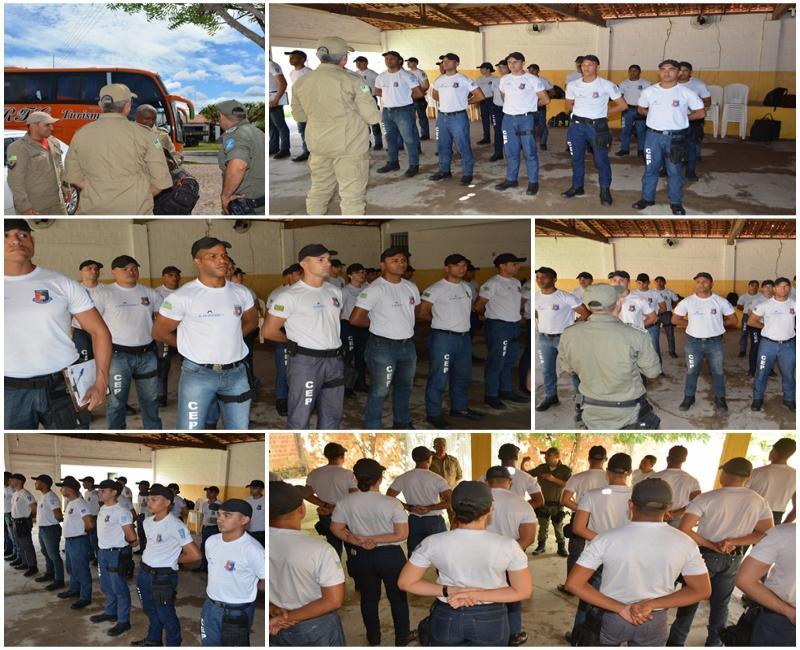 Militares chegam a Cabeceiras para ajudarem na remoção das famílias que moram em áreas de risco
