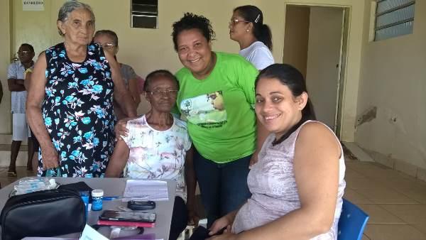 Acompanhamento de hipertensos e diabéticos em Colônia do Gurgueia