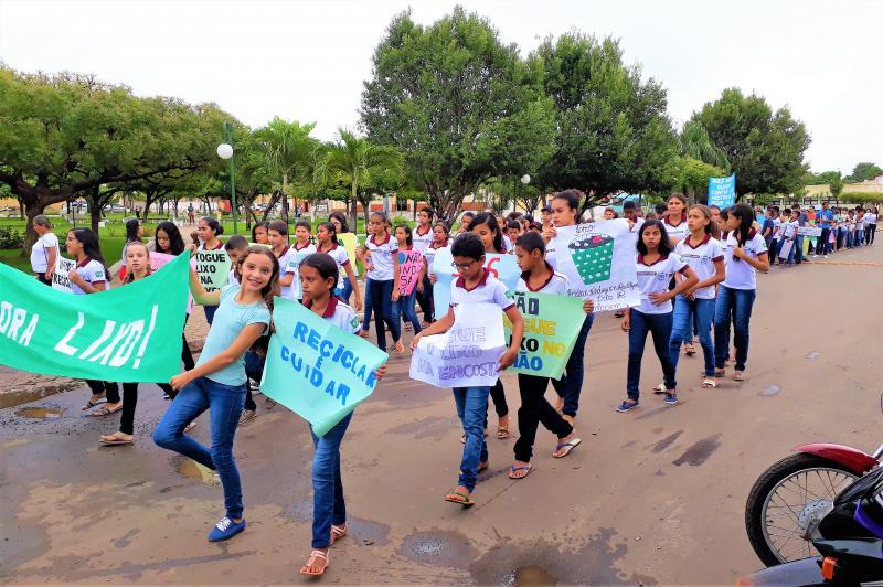 Escola municipal de Joaquim Pires realiza V Conferência Nacional Infanto Juvenil do Meio Ambiente