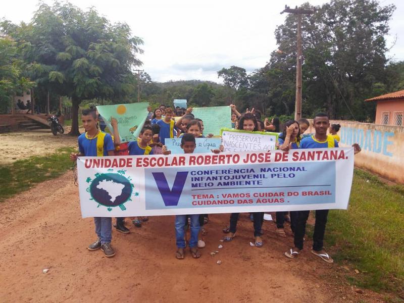 Escola do povoado Brejo realiza V Conferência Nacional Infanto Juvenil do Meio Ambiente
