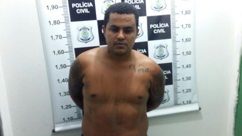 Acusado de homicídio é preso em Água Branca