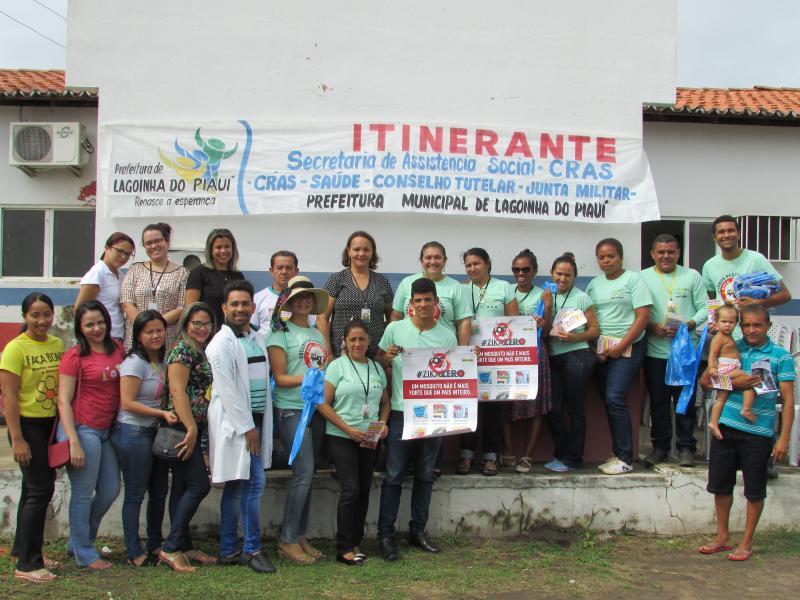 Prefeitura de Lagoinha do Piaui realizou no dia hoje a segunda edição do CRAS itinerante