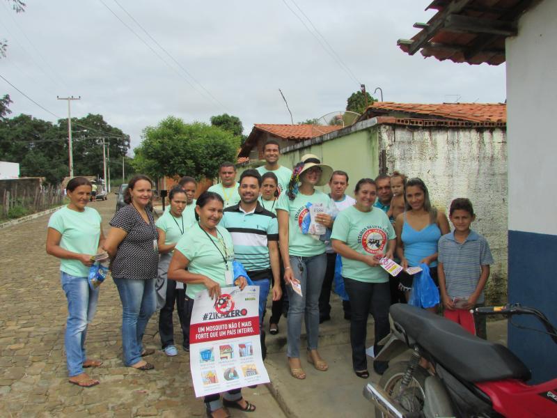Secretaria municipal de saúde de Lagoinha do Piauí da da início a campanha de prevenção a dengue