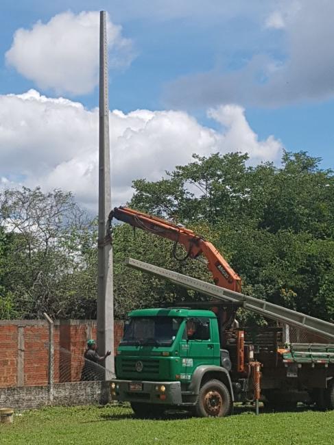 Prefeitura Municipal de Nazaré do Piauí retoma obras do estádio municipal