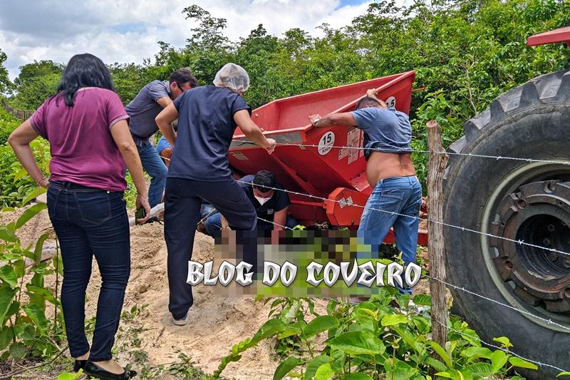 Homem de 39 anos morre esmagado por retroescavadeira no Piauí
