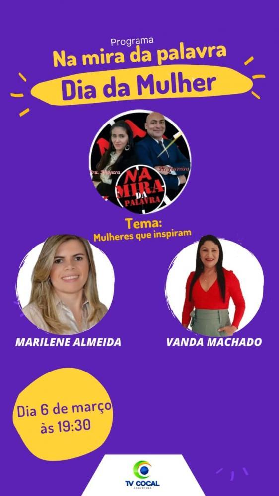 Secretária da Mulher e primeira-dama participarão de programa em Cocal