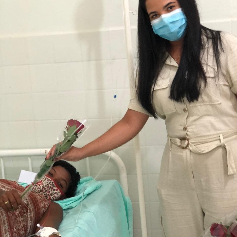 Primeira-dama Thalyssandra Moura (Secretária Mun. de Assistência Social) em Homenagem Dia da Mulher
