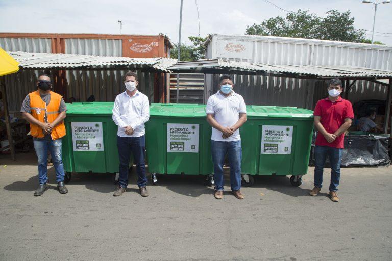 Timon: Superintendência de Limpeza Urbana instala contêineres na cidade