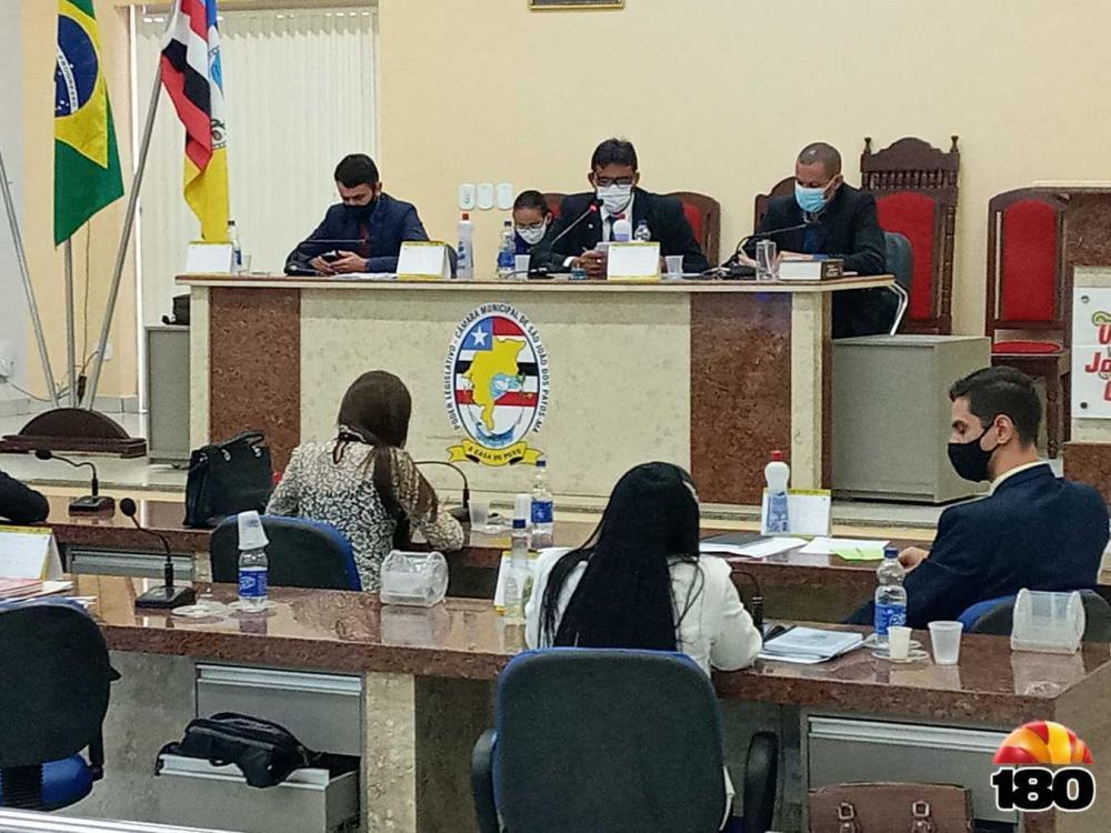 Realizado a quinta sessão de vereadores em São João dos Patos
