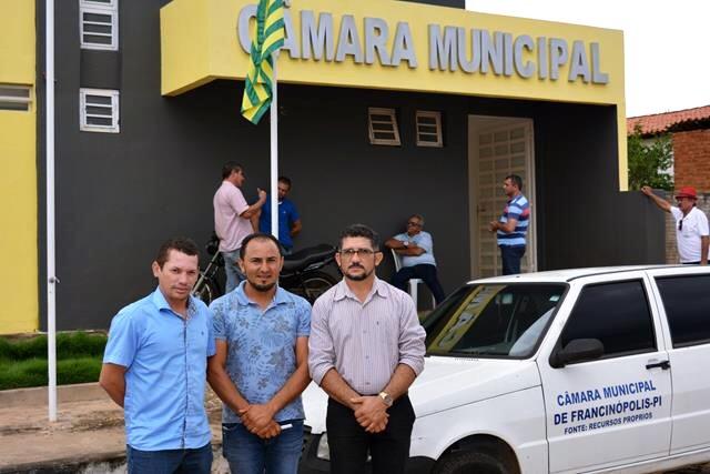 Vereadores de Barra D'Alcântara participam de Conselho Território Vale do Sambito em Francinópolis