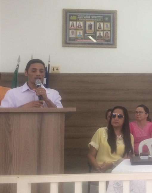 Prefeito de Barra D'Alcântara Claudison Brito participa de encontro Territórial Vale do Sambito