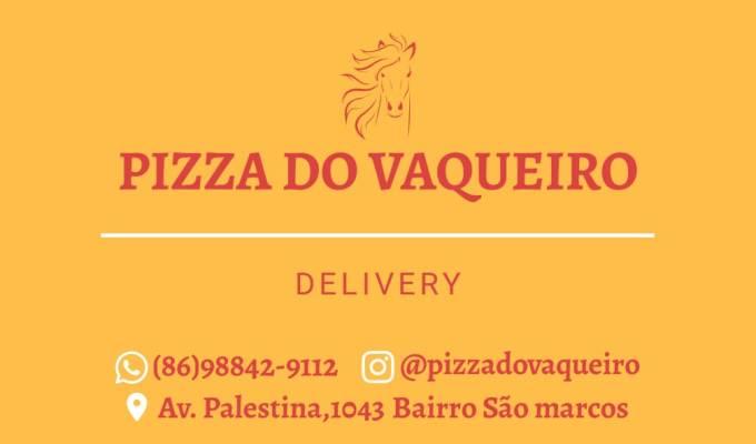 'Pizza do Vaqueiro': Delivery e Drive Thru. A melhor de Timon