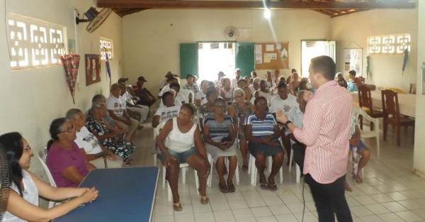 Secretaria Municipal de Assistência Social promove palestra com o tema: Saúde do Idoso