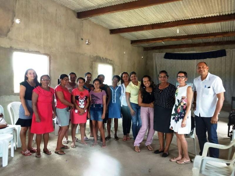 Secretaria de Assistência Social  de Avelino Lopes visita interior do município
