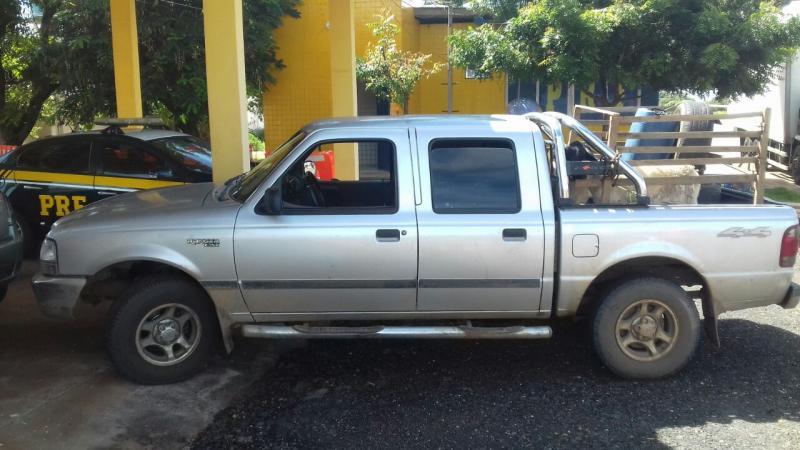 PRF recupera no Piauí veículo roubado em Tocantins