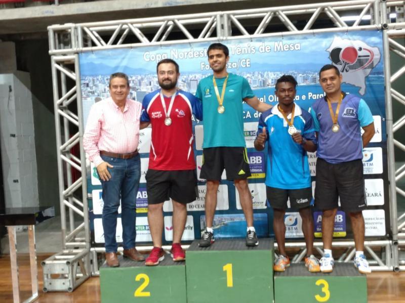 Piauí é destaque na Copa Nordeste de Tênis de Mesa