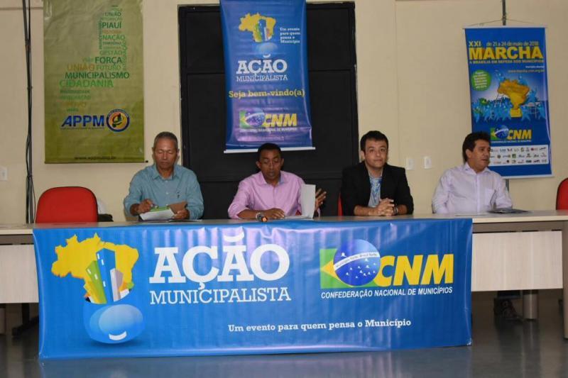 CNM promove Ação Municipalista em Floriano