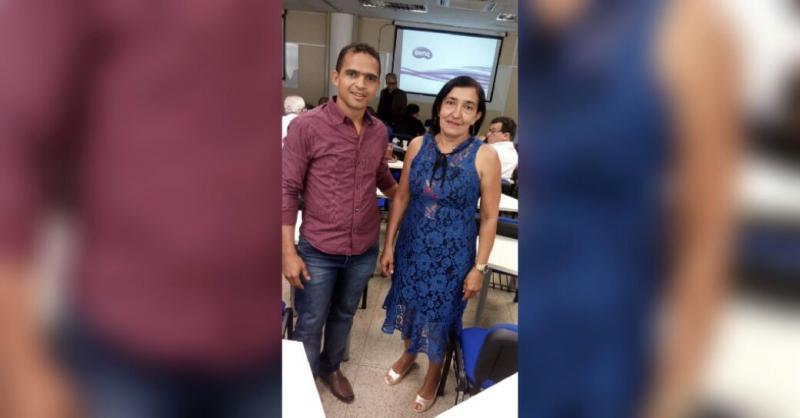 Gerente e assistente do RPPS de Landri Sales participam do Lancamento do programa Pró-Gestao