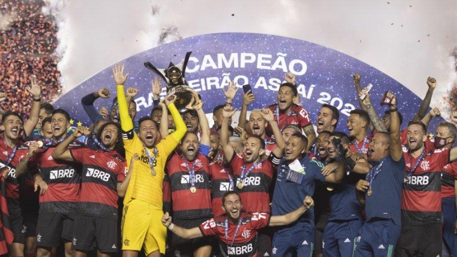 Flamengo campeão brasileiro 2020 - Foto: Lucas Figueiredo / CBF