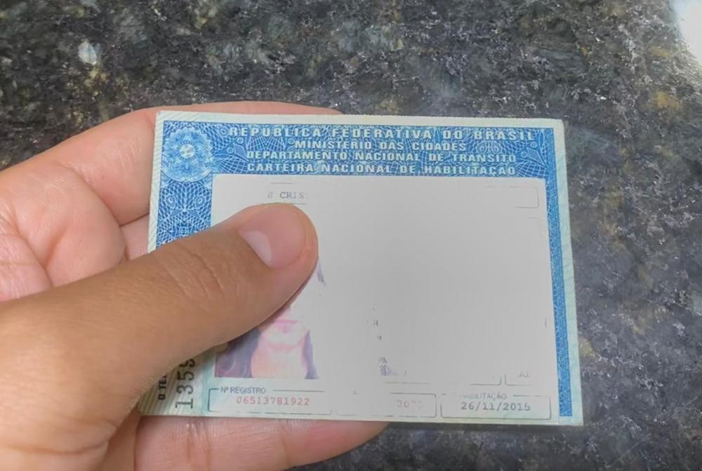 carteira de habilitação - R10