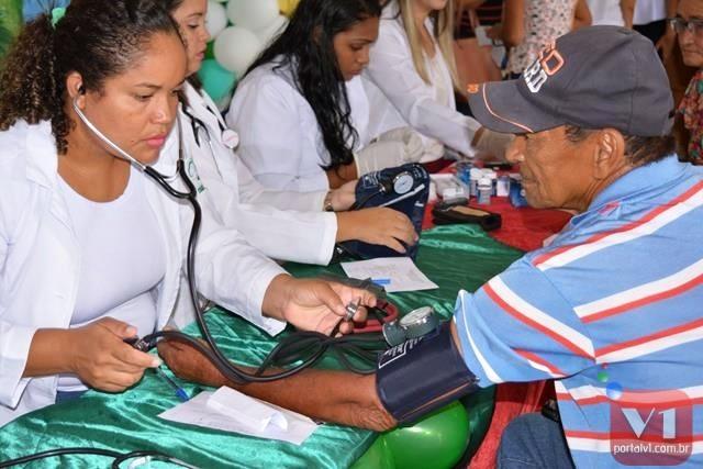 Secretaria realiza ações no Dia Mundial da Saúde em Pimenteiras