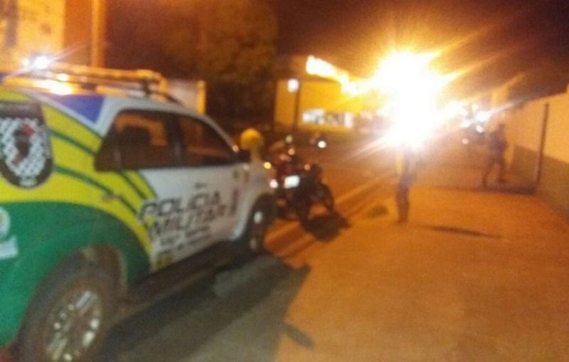 Trio de assaltantes coloca medo em moradores de cidade no interior do Piauí