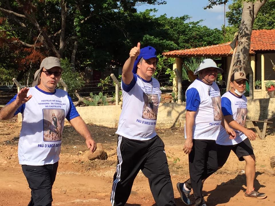 Firmino Filho ao lado do prefeito Nilton Bacelar e do senador Ciro Nogueira