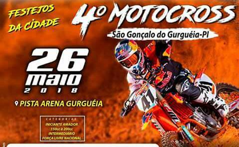 4º MotoCross de São Gonçalo do Gurgueia