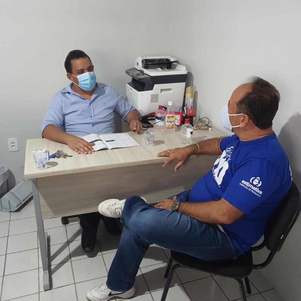Prefeito Ricardo Moura faz balanço de três meses de gestão