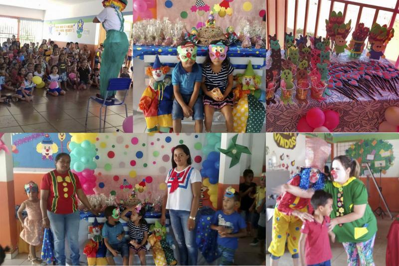 Secretaria de Educação e Cultura de Uruçuí realiza atividades nas escolas em comemoração ao Dia das Crianças