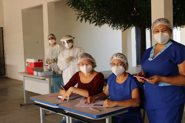 14,98% da população serrajoense estão vacinadas