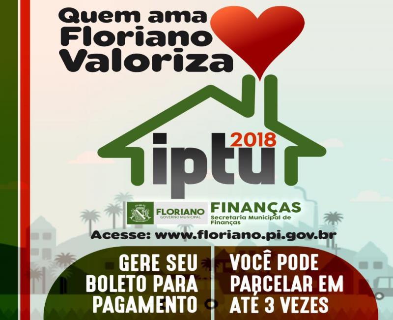 IPTU 2018 está disponível para pagamento com desconto e parcelamentos