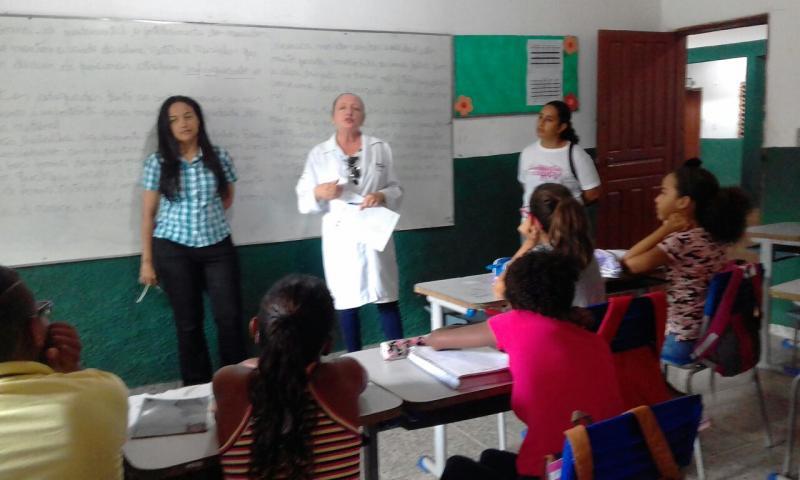 Cristino Castro: Secretaria de Saúde promove palestra sobre obesidade infantil