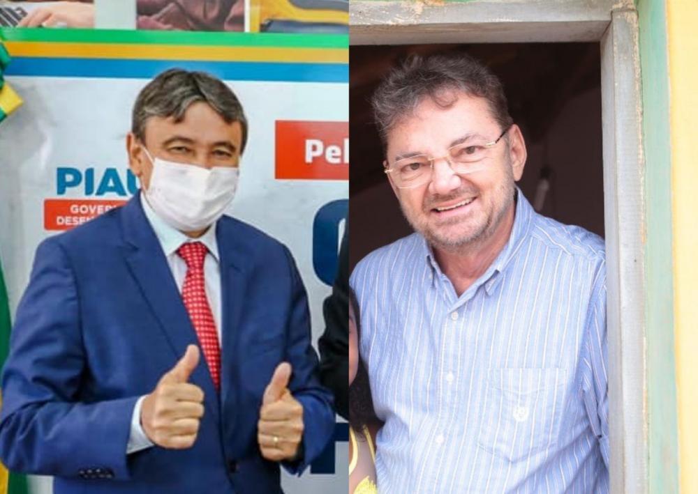 Wellington Dias e Wilson Martins