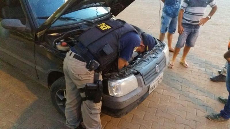 PRF recupera no Piauí veículo roubado em Belo Horizonte