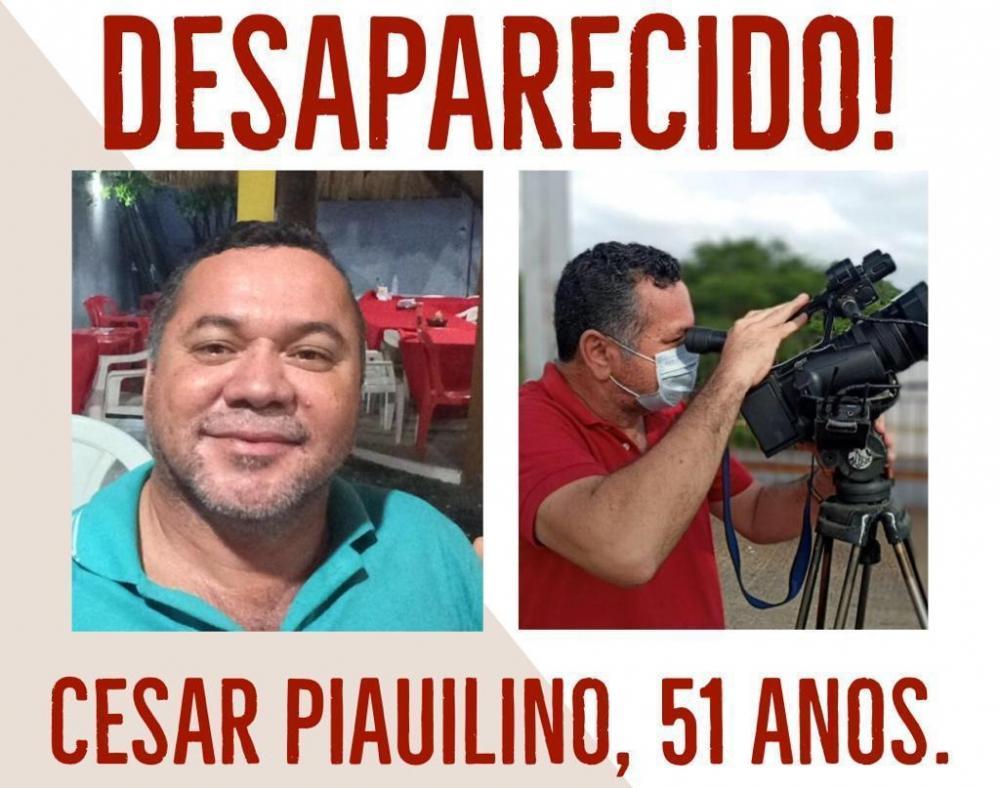 Família procura por cinegrafista desaparecido em Teresina