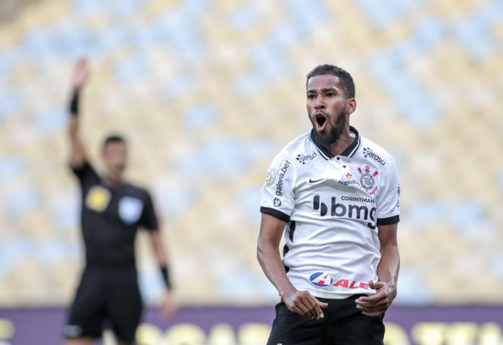 Everaldo em Fluminense x Corinthians — Foto: Rodrigo Coca/Ag. Corinthians